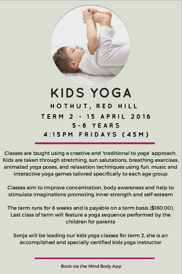 Kids Yoga Red Hill